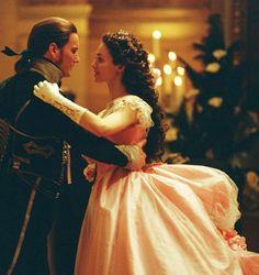 Raoul and Christine Phantom of the Opera 2004 movie