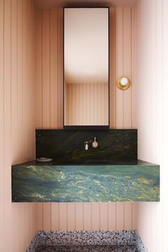 House tour: a Tasmanian family bungalow brimming with character - Vogue Australia Bathroom Design Inspiration, Bathroom Interior Design, Interior Inspiration, Design Ideas, Flack Studio, Timber Ceiling, Terrazzo Tile, Timber Deck, Vogue Living