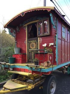 Gypsy wagon in Northern California