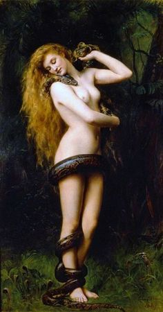 Lilith by John Collier in 1887