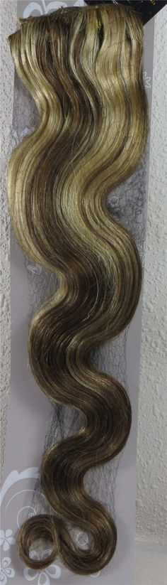 """Wholesale 22"""" Women's Remy Human Hair Clips In Extensions Body Wavy 7Pcs 75g Mixed Blonde #8/613 //Price: $US $28.22 & FREE Shipping //   http://humanhairemporium.com/products/wholesale-22-womens-remy-human-hair-clips-in-extensions-body-wavy-7pcs-75g-mixed-blonde-8613/  #hair_weaves"""