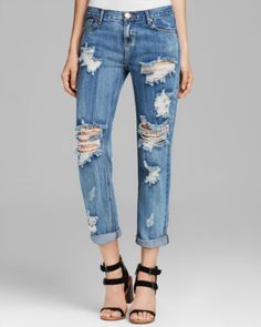 One Teaspoon Jeans - Awesome Baggies in Cobain | Bloomingdales's