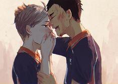 """""""Don't cry, Koushi. I'm okay"""""""
