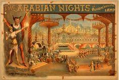Burlesque Arabian Nights Poster