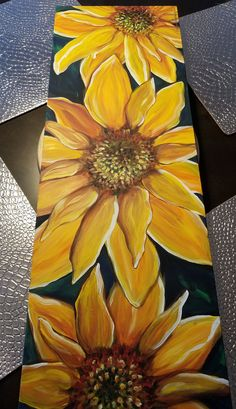 "Jessies Southern Comfort Installation 2018- ""Guest Book"" Block Painting, Dress Painting, Pallet Painting, Pallet Art, Acrylic Painting Canvas, Fabric Painting, Sunflower Drawing, Sharpie Art, Australian Birds"