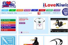 I Love Kiwis– Innovative Magento website