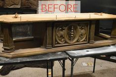 old coffee table to upholstered entry bench, painted furniture, repurposing upcycling, shabby chic Entry Bench, Dining Room Bench, Repurposed Furniture, Painted Furniture, Metal Furniture, Mirrored Furniture, Painted Chairs, Furniture Makeover, Diy Furniture