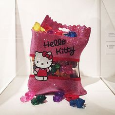OMG you guys, I can't contain my excitement for these #HelloKitty gummy bears.  kawaii ❤️❤️