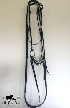 """Pferd: Zaumzeug - Universal Westerntrense """"Heidehof"""" aus BIOTHANE - ein Designerstück von CollarandLeash bei DaWanda"""