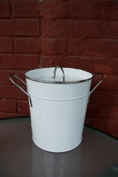 DIY Countertop Compost Pail... Might Be Good To Transfer The Items Out Every