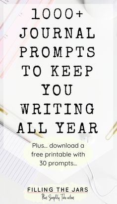 Journaling helps you let go of what's in your head and get on with life. Click through for over 1000 journal writing prompts printable writing prompts. Writing Prompts For Writers, Writers Notebook, Writing A Book, Writing Tips, Writing In A Journal, Writing Genres, Writing Programs, Keeping A Journal, Writing Lessons