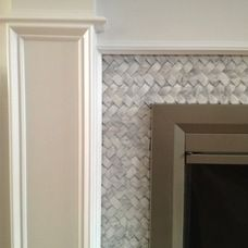 marble fireplace surround- but without raised hearth | Things to ...