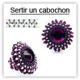 Sertir un cabochon, Techniques & astuces, Schémas (gratuits) - NewPerle.fr: vente de perles en ligne