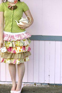 ruffled murphy skirt tutorial