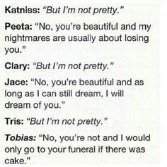 Divergent tris and Tobias