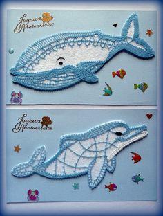 et le dauphin Aujourd'hui Bernadette D. Lace Heart, Lace Jewelry, Lace Making, Lace Patterns, Bobbin Lace, Diy Hacks, String Art, Crochet Lace, Lace Detail