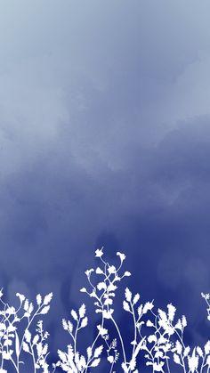 Wallpaper Arranjo Azul by Gocase, blue, azul, shades of blue, plants, white, branco, clouds, nuvens, gocase, lovegocase, wallpaper, papel de parede, background, fundo de tela, #wallpaper, #papeldeparede, #background, #fundodetela Love Wallpaper, Screen Wallpaper, Pattern Wallpaper, Iphone Wallpaper, Borderlands, Stock Foto, Backrounds, Beauty Art, Watercolor Flowers