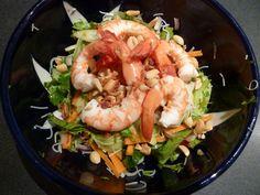 Poh's Prawn Noodle Salad