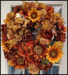 Wreaths: Decorative Door Wreaths, Luxury Christmas Wreaths - Luxury Fall Wreaths - Maplesville, AL