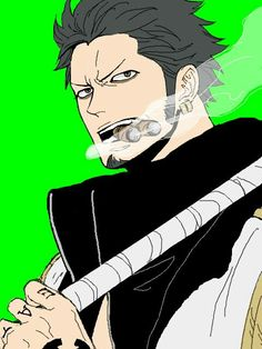 Character switch! Law and Smoker. One Piece