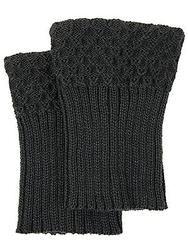 Plain Charcoal Boot Cuff www.mycrickets.com