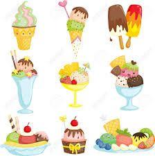 Resultado de imagen de helados illustration