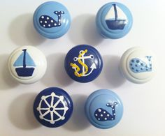 Nautical Drawer Knobs for your Nautical Nursery or Child's Room