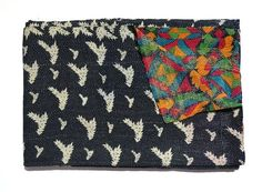 Vintage Kantha ThrowReversible Kantha Quilt by tribalcrafthome, $86.00