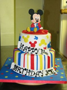 Disney Themed Cake