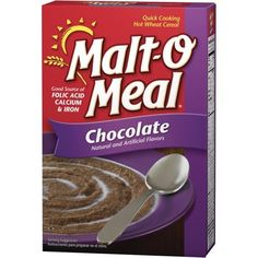 Malt O Meal, Chocolate 36 Oz, Quick Cooking Hot Wheat Cereal - Single Box by Malt-O-Meal -- Awesome products selected by Anna Churchill