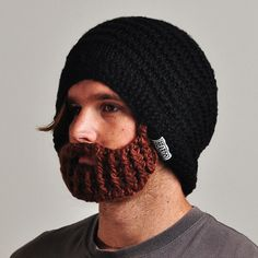 Official Beardo - Original Black with Brown beard