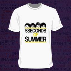 Camiseta 5 Seconds Of Summer - Boys