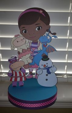 Doc McStuffins Birthday Party Centerpiece. $17.00, via Etsy.