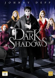 Dark Shadows from Tim Burton with Johnny Depp as Barnabas Collins Johnny Depp Dark Shadows, Dark Shadows Movie, Beau Film, Eva Movie, Movie Tv, Iconic Movies, Great Movies, Barnabas Collins, Film Tim Burton