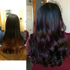 Colorful Hair, Hair Color, Hairstyles, Long Hair Styles, Beauty, Haircuts, Haircolor, Hairdos, Colored Hair