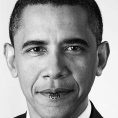 Obama. Space invader