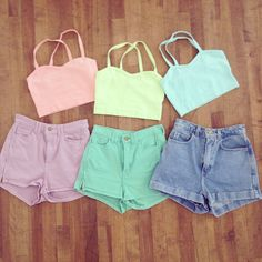 Happy Friday everyone! 20% off Crop Tops and Shorts with code COLOR20 now through 4/28. Online only. Enjoy!