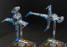Medpac Squadron B-Wing Paint Job, and an inspiration of the squad list I'm attempting to put together!
