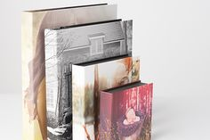 Zen Layflat Impact Professional Coffee Table Photo Book in Leather or Materials with Case   AsukaBook USA