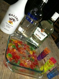 gummy bears for bachelorette party… remember how good these were when Richies sis made them ….yum gummy bears for bachelorette party… remember how good these were when Richies sis made… College Drinks, College Parties, Party Drinks Alcohol, Alcoholic Drinks, Alcohol Games, Beverages, Alcohol Aesthetic, Bachlorette Party, Bachelorette Parties