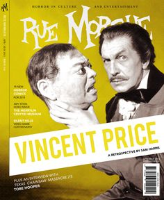 """Rue Morgue"" Magazine Rebranding/ Editorial Design on Behance"