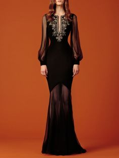 art-is-the-word: chandelyer: Andrew Gn pre-fall 2015 I really want that first dress. Finna have that shit MADE Fashion 2020, Runway Fashion, Fashion Beauty, Fashion Show, Fashion Design, Fashion Fashion, Fantasy Gowns, Black Evening Dresses, Wedding Dress Styles
