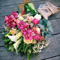 Botanical Brouhaha explains why wrapped gift bouquets are in again thanks to new technology,