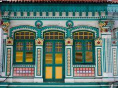 Singapore Peranakan shop House