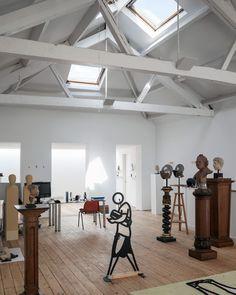 Carmody Groarke . Artist Studio . Hoxton (4)