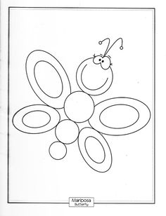 Butterfly Coloring Pages For Kids - Preschool and Kindergarten Cool Coloring Pages, Coloring Sheets, Drawing For Kids, Drawing S, Doodle People, Butterfly Coloring Page, Rock Painting Designs, Animal Quilts, Cute Animal Drawings