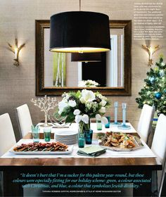 Home On The Strand In Manhattan Beach  Holiday Tables Manhattan Delectable The Strand Dining Rooms Decorating Inspiration