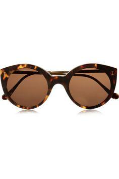Illesteva   Palm Beach round-frame acetate sunglasses   NET-A-PORTER.COM