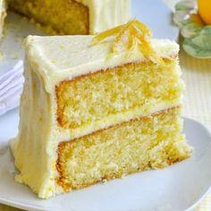 Lemon Velvet Cake - Developed from an outstanding Red Velvet Cake recipe, this lemon cake is a perfectly moist and tender crumbed cake with a lemony buttercream frosting. An ideal birthday cake for the lemon lover in your life. Cake Recipes, Dessert Recipes, Desserts, Lemon Velvet Cake, Round Cake Pans, Cake Flour, Homemade Cakes, Cream Cake, Celebration Cakes
