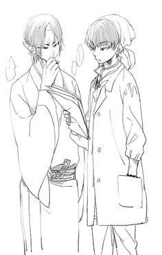 Hoozuki no Reitetsu. Hoozuki & Baize